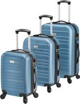 Kofferset 3-delig ultra licht - blauw
