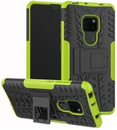 Huawei Mate 20 hoesje - Rugged Hybrid Case - groen