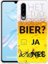 Huawei P30 Hoesje Is het al tijd voor bier?