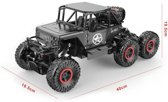 Rc ROCK DEFENDER Off Road AUTO- 6WD - BERGBEKLIMMER - 2.4GHZ 1:12 monster car (oplaadbaar)