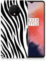 OnePlus 7T TPU Hoesje Zebra