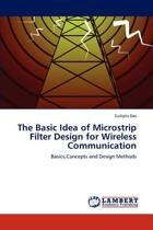 The Basic Idea of Microstrip Filter Design for Wireless Communication