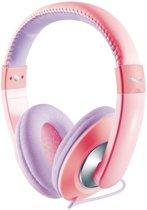 Trust Sonin - Koptelefoon voor kinderen - Wit/Roze