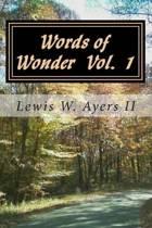 Words of Wonder Vol 1