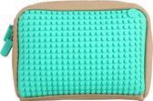 Pixelbags - Handtas inclusief 120 kleine Pixels - Beige en Turquoise