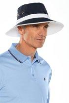 Coolibar - UV-hoed voor dames & heren - Twee kleurig: donkerblauw en wit