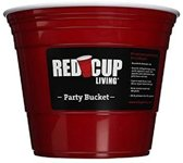 Red Cup Party Bucket - Ijsemmer - 5.5L - American Cups