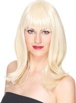 """""""Luxe blonde pruik voor dames - 170 gr - Verkleedpruik - One size"""""""