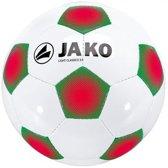 Jako Bal Light Classico 3.0 - Voetbal -  Algemeen - Maat 5 - Wit;Groen;Rood