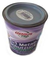 Genius PRO 3 in 1 Metaalbescherming lak (roestbescherming, grondverf en lak) ZILVER GRIJS 0,75L