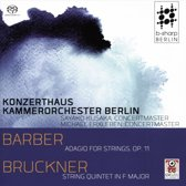 Adagio For Strings Op.11 / String Quintet In F Maj