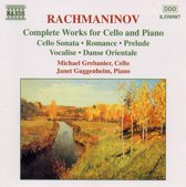 Grebanier/Guggenheim - Complete Works For Cello & Piano