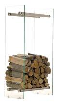 Clp Houtrek Dacio, helder glas - 35 x 35 x 180 cm (D x B x H)