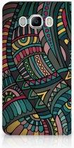 Samsung Galaxy J7 2016 Standcase Hoesje Design Aztec