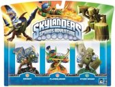 Skylanders Spyro's Adventure: Triple Pack Drobot, Stump Smash, Flameslinger