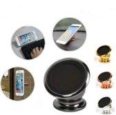 Luxe 360 Universele one Touch Magnetische Dashboard houder Zwart