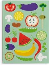 FT 030949 Notitieboek A6 Happy Veggie