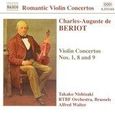 De Beriot:Violin Con.Nos.1,8&9