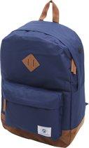 Dunga 8150 Vintage Backpack Rugtas / Rugzak / 45 x 30 x 25 cm / 34 Liter / Blauw en Bruin