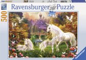 Ravensburger Eenhoorns puzzel 500 stukjes