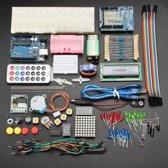 Arduino Compatible Basis Starters Set Kit Limited Edition 2017 - Inclusief Gebruikersdocumentatie (Engels) - Arduino Genuino UNO R3 Set - Extra Compleet - Geüpgraded UNO R3 ATmega328P