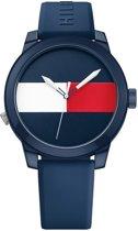 Tommy Hilfiger TH1791322 Horloge - Siliconen - Blauw - Ø 42 mm