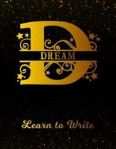 Dream Learn To Write