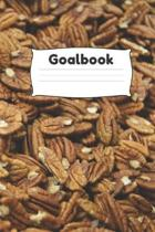 Goalbook: 6x9 120 white pages Notebook, Journal for getting Your Goals Live