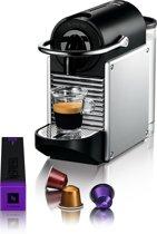 Nespresso Magimix Pixie M110 koffiemachine - Electric Aluminium