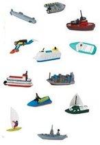 Plastic bootjes set van 12 stuks