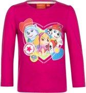 Paw Patrol shirt roze voor meisjes 98