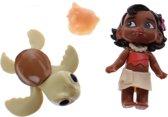 Hasbro Disney Young Vaiana Speelfiguur 7 Cm 3-delig