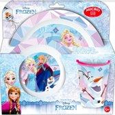 Disney Frozen 3 delige ontbijtset