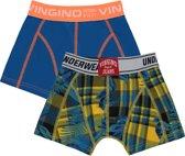Vingino Jongens Boxer - Capri Blue - Maat 122-128