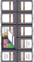 Bilora SD kaart organizer (voor 10 kaartjes)