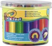 Crayola Mini Kids - 24 Dikke waskrijtjes