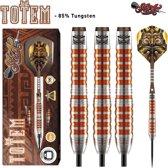 Shot Totem 3 Orange 85% Tungsten 24 gram Dartpijlen