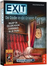 EXIT De dode in de Orient Express - Escape Room - Bordspel