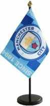 Manchester City Table Flag EST