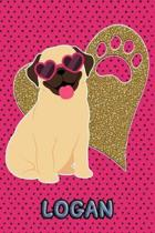 Pug Life Logan
