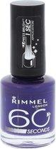 Rimmel 60 Seconds Finish - 810 Blue My Mind - Nagellak