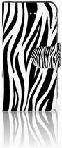 iPhone 5 | 5s | SE Boekhoesje Uniek Design Zebra