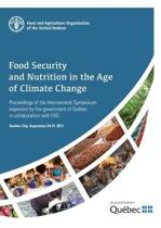 Food security and nutrition in the age of climate change