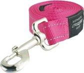 Rogz For Dogs Lumberjack Long Riem Hondenlijn - 25 mm x 1.8 m - Roze