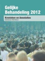 Gelijke behandeling 2012