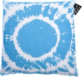 In The Mood Sierkussen Tie & Dye - 50x50 cm - Aqua