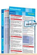 Werkwoordenwijzer Nederlands - nieuwe editie uitklapkaart