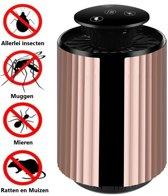 Insectenlamp + Rat en Muizen verjager in 1 | Muggenlamp en Knaagdieren verjager | Muggenvanger en Muizenverjager | Ultrasonische Ratten verjager | UV-Lamp met Ongedierte verjager | Anti-Muggen | Anti-Ratten en Muizen | Vliegenlamp