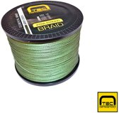 Elemental Braid - Army green - 25lbs - 0,20mm - 1000m