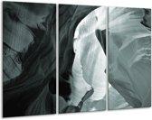 Glas schilderij Zand | Grijs, Groen | 120x80cm 3Luik | Foto print op Glas |  F006846
